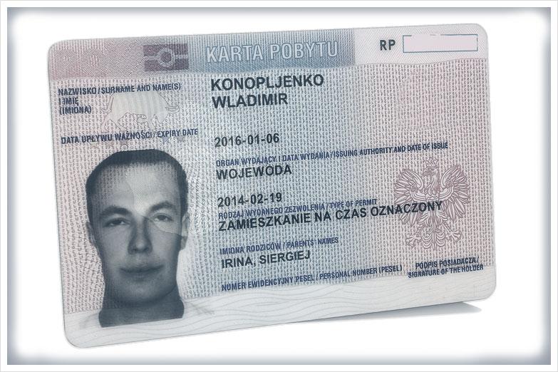 Zezwolenie na zamieszkanie na czas oznaczony - Sworny Tłumaczenia Przysięgłe przez Internet